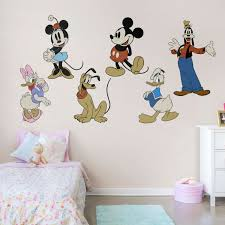 Walt Disney Mickey Partners Large Vinyl Decal Choose Color Size Sticker