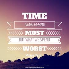time management inspirational quotes days to get things in