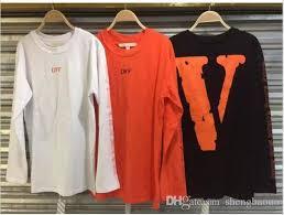 vlones x off white long sleeve t shirt