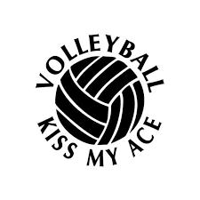 11 8cm 12cm Car Styling Movement Volleyball Kiss My Ace Funny Casual Car Stickers C5 0264 Sticker Mirror Sticker Decorsticker Kit Aliexpress