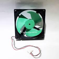 Quạt tủ lạnh DC12v-0.23A NMB 3 dây 3 cánh KT 12.5 x 12.5 cm (side by side