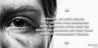 kata kata mutiara tentang air mata quotes
