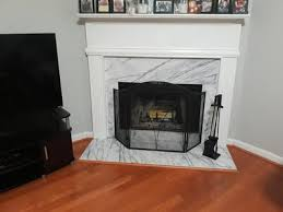 arched fireplace screen com
