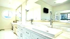bathroom mirror white framed mirrors