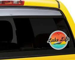 Lake Life Sticker Etsy