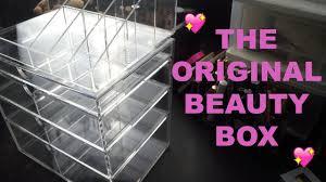 original beauty box unboxing makeup