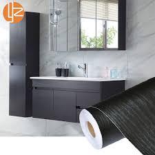 pvc self adhesive waterproof black wood