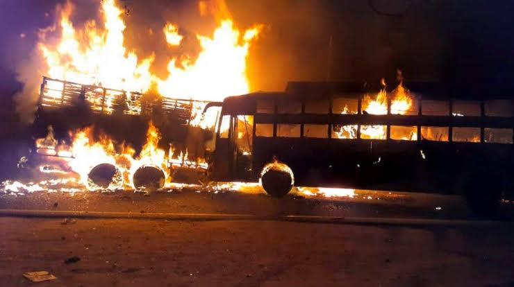 "Image result for kannauj-bus-fire-accident-dead-injured-bjp-pm-modi-congress-rahul-gandhi-express-condolences"""
