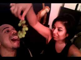 Babe feeding me grapes this is real love - YouTube