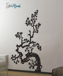 Vinyl Wall Decal Sticker Japanese Asian Flower 407 Stickerbrand