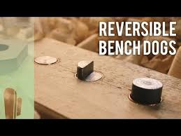 How To Make Reversible Bench Dogs Youtube Dog Bench Bench Dogs Diy Projects