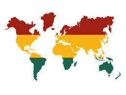 Rasta World Map Decal Dezign With A Z