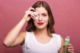diy face and eye makeup remover