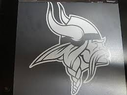 Minnesota Vikings White Window Die Cut Decal Wincraft Sticker 8x8 Nfl 1751553405