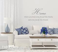 Family Quote Wall Decal Home Decor Living Room Decals Home Etsy