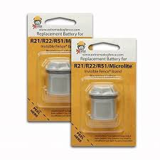 Replacement Battery For Invisible Fence Dog Collar R21 R22 R51 Microlite X8 Pcs Jolash Pl