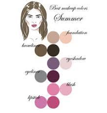 soft summer color palette vector images