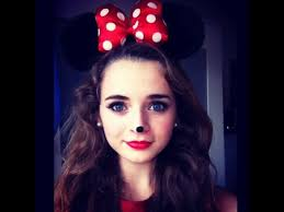 minnie mouse makeup and costume