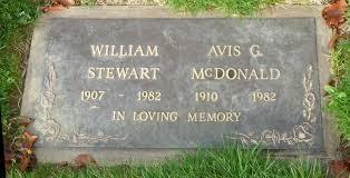 Avis Gertrude Anton McDonald Stewart (1910-1982) - Find A Grave Memorial