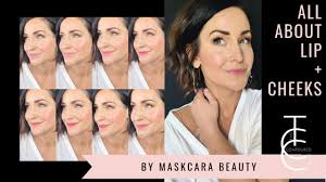 cream blush and lip color from maskcara