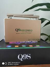 Đầu Android tivi box Q9s Kèm Chuột- Trải nghiệm tivi, video 4K, âm thanh  trung thực.