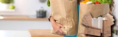 printed kraft paper bags usa
