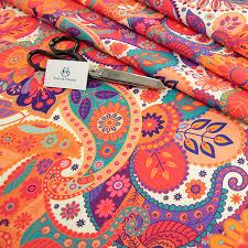 ethnic digital print upholstery fabric