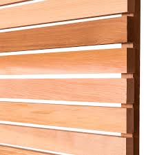 Pack Of 10 Cedar Battens Square Edge 44mm X 17mm Contemporary Fencing