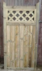 smileswoodcraft wooden garden gate hand