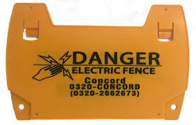 Concord Technologies Inc Home Security Wall Top Electric Fence