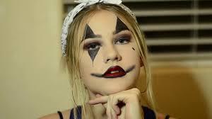 gangster clown makeup tutorial// ava howard - YouTube