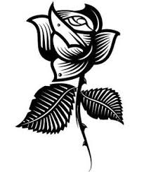 Black Rose Flower Car Decal Sticker Ebay