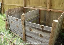 How To Build A Compost Bin With Repurposed Fence Panels Diy Repurposed Fence Panels Backyard Fences Fence Panels
