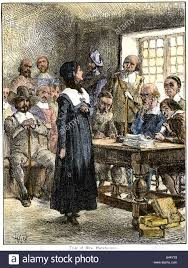 Anne Hutchinson sentenced to be banished from Massachusetts Bay ...