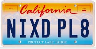 vanity plates rejected by dmv caution