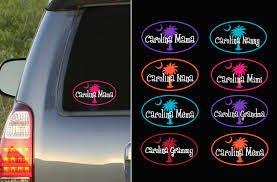 Custom Carolina Grandparent Decal