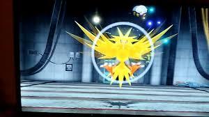 Shiny Zapdos Pokemon let's go - YouTube
