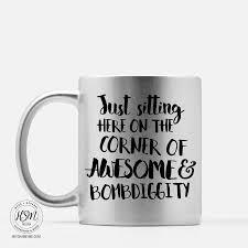 Awesome, Bombdiggity - Mug – Hey Shabby Me