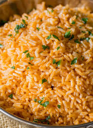 spanish rice mexican rice dinner