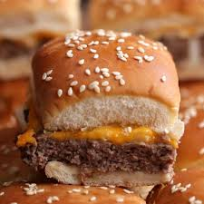 cheeseburger sliders recipe by tasty