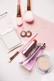 layout of cosmetics fashion