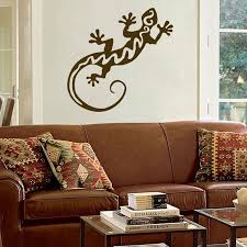 Large Southwest Gecko Or Lizard Wall Decal Sticker Graphic Southwest Home Decor Wall Decal Sticker Wall Decals