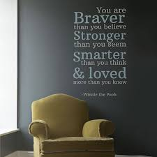 You Are Loved Vinyl Wall Stickers Inspired By The Work Of A A Milne Vinyl Impression