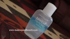 maybelline makeup remover eye lip