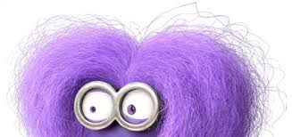 purple minion makeup and hair for the