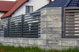 Modular Fence System Roma Classic Concrete Fences Producer Of Fences Posts Blocks And Hollow Bricks Jonie Fence Gate Design Fence Design Concrete Fence