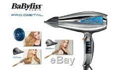 professional hair dryer 2200w silver