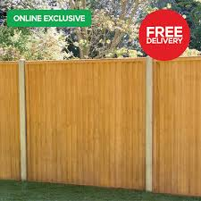 Closeboard Treated Timber Fence Panel 6ft X 5ft Pack Of 20 Howarth Timber