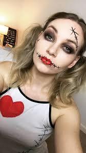 voodoo doll halloween makeup heidi emma