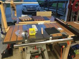 Grizzly G0771 Table Saw And Vega Fence System By Chef57 Lumberjocks Com Woodworking Community